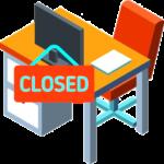 Secretaría cerrada